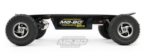 "MO-BO - Elektro-Skateboard ""Black Line"" 2600 Watt, Channel Trucks"