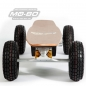 "Preview: MO-BO - Elektro-Skateboard ""Classic Wood"" 1.300 Watt ALL-TERRAIN, Channel Trucks, ohne Akku"