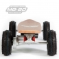 "Preview: MO-BO - Elektro-Skateboard ""Classic Wood"" 800 Watt ALL-TERRAIN, Channel Trucks, 36V, Bleigel 14Ah"
