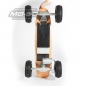 "Preview: MO-BO - Elektro-Skateboard ""Classic Wood"" 800 Watt, Channel Trucks, ohne Akku, ohne Reifen"