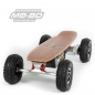 "Preview: MO-BO - Elektro-Skateboard ""Classic Wood"" 800 Watt X-TREM, Channel Trucks, 36V, Bleigel 14Ah"