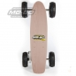 "Preview: MO-BO - Elektro-Skateboard ""Classic Wood"" 800 Watt X-TREM, Channel Trucks, 36V, ohne Akku"