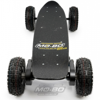 "MO-BO - Elektro-Skateboard ""Black Line"" 4000 Watt, Channel Trucks, 36V, Blei-Gel 14 Ah"