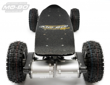 "MO-BO - Elektro-Skateboard ""Black Line"" 2600 Watt, Channel Trucks, 36V, Blei-Gel 14 Ah"