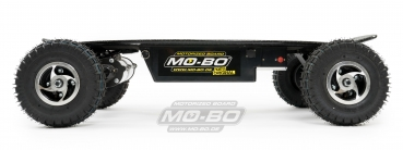 "MO-BO - Elektro-Skateboard ""Black Line"" 2600 Watt, Channel Trucks, 36V, Lithium 38 Ah"