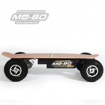 "MO-BO - Elektro-Skateboard ""Classic Wood"" 800 Watt ALL-TERRAIN, Channel Trucks, ohne Akku"