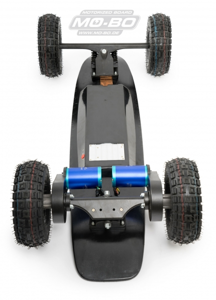 "MO-BO - Elektro-Skateboard ""Black Line"" 4000 Watt, Channel Trucks, 36V, Lithium 49,5 Ah"