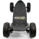"MO-BO - Elektro-Skateboard ""Black Line"" 4000 Watt, Channel Trucks, 36V, Lithium 8.8 Ah"